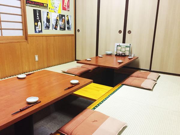 座敷席(その二)